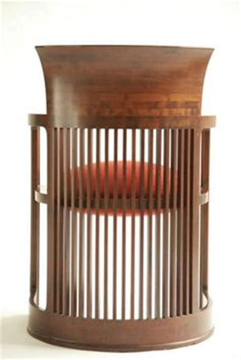 frank lloyd wright american 1867 1959 spindle cube chair
