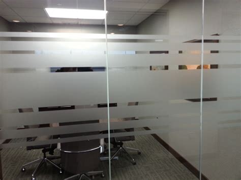 Glass Privacy Film Installed in Woodbury, MN for Bell