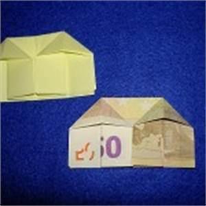 Geldscheine Falten Haus : geldscheine falten anleitungen zum geld falten mit ~ Lizthompson.info Haus und Dekorationen