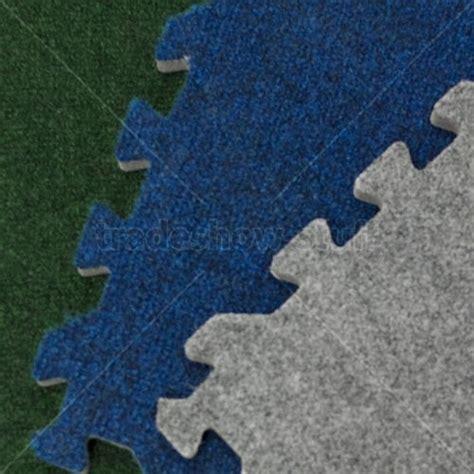 comfort carpet plush trade show flooring interlocking