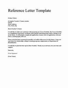 General Recommendation Letter Samples Database Letter