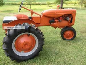 Allis Chalmers 1947 Model C Tractor