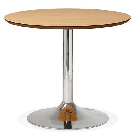 table ronde de bureau table de bureau ronde kitchen en bois finition naturelle