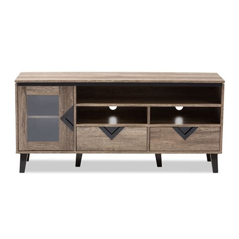 light brown tv stand baxton studio cardiff modern and contemporary light brown