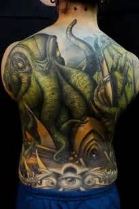 black  grey cthulhu tattoo    men  effieboneata