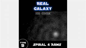 Real Galaxy  Spiral 4 Arms   Type B  Mod