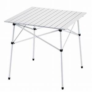 Table De Camping Leclerc : table de camping pliante en aluminium table enroulable ~ Dailycaller-alerts.com Idées de Décoration