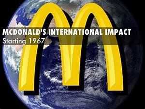 McDonald's Global Impact by adamshore99