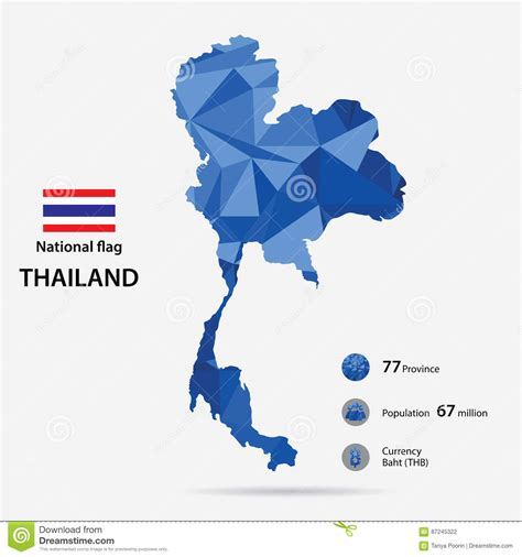 Thailande Dans La Carte Du Monde by La Tha 239 Lande Sur La Carte Du Monde Avec Un Mod 232 Le Abstrait