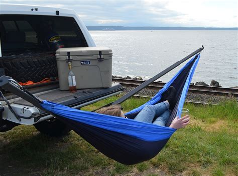 Hammock Hitch by Top Six Vehicle Mounted Hammock Stands