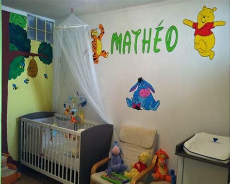 décoration chambre bébé winnie l ourson deco chambre winnie l ourson