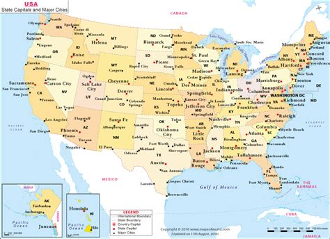 buy  state capitals  major cities map
