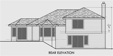 side split house plans side split level house plans house design plans