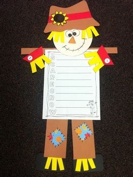 scarecrow craft  writing activities  bright concepts  teachers
