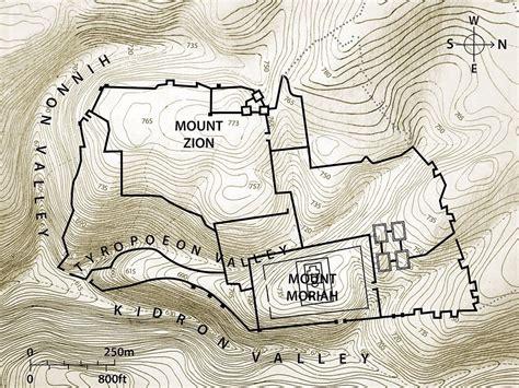 freebibleimages maps jerusalem   time  jesus