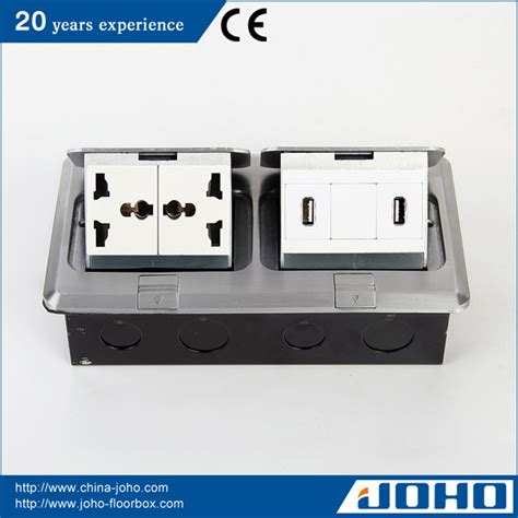 floor l usb port electrical plugs sockets ip44 waterproof aluminum fast pop up type recessed floor boxes with