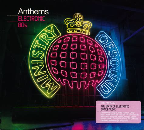 Va  Ministry Of Sound Anthems Electronic 80s (2009) 3cd