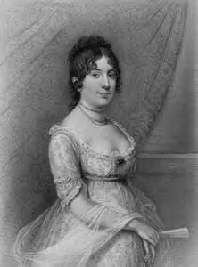 First Lady Dolley Madison