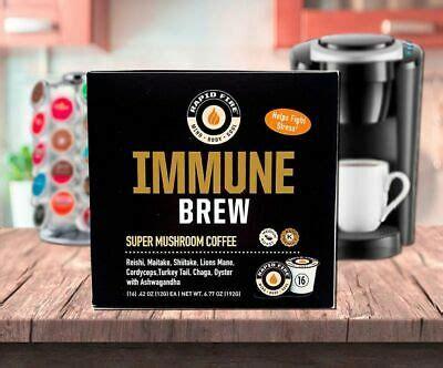 However, besides caffeine, no ingredients in this. Rapid Fire Ketogenic IMMUNE BREW Keto Coffee Pods 16 K-Cups BURN FAT, DE-STRESS 35046104597   eBay