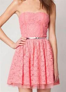 Cute Pink Dress Tumblr - Fashion Female