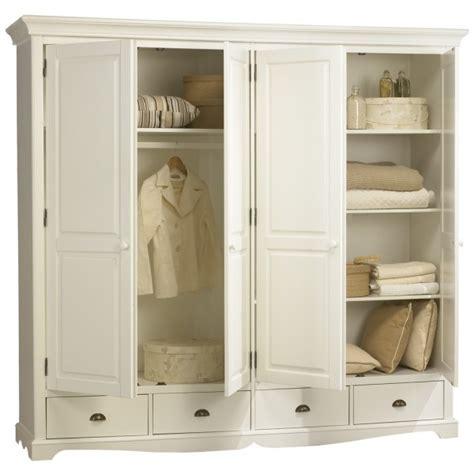 grande armoire chambre armoires de chambre armoire rangement bonnetiere chne
