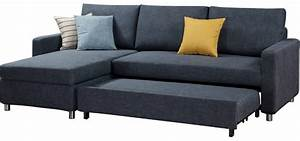 Modern round multi purpose storage german sofa bed with for German sofa bed
