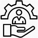 Icon Manpower Workforce Staff Icons Resource Human