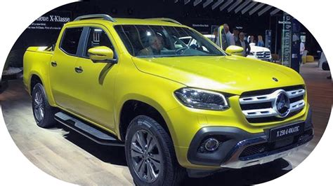 Mercedes X-class Price & Details @ The Iaa 2017 Frankfurt