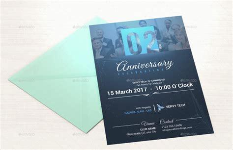 Anniversary Card Template 21+ Free & Premium Download