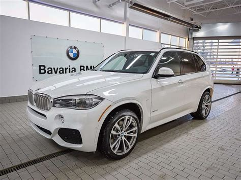 New 2018 BMW X5 xDrive50i SUV in Edmonton #18X54426