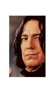 Did the character Severus Snape ever smile or laugh in any ...