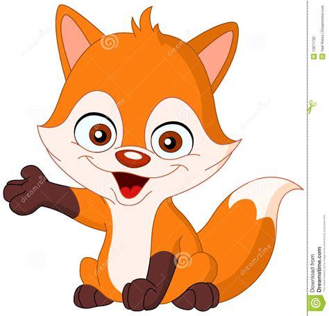 baby fox stock photography image
