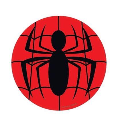 spiderman spider symbol sticker