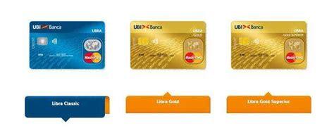 carta  credito ubi banca carta cento  cento
