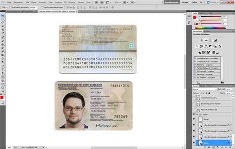 fake personalausweis erstellen  images  ausweis