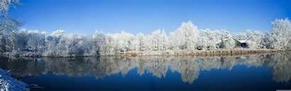 Panoramic Winter 7680 4k Desktop Wallpapers Dual