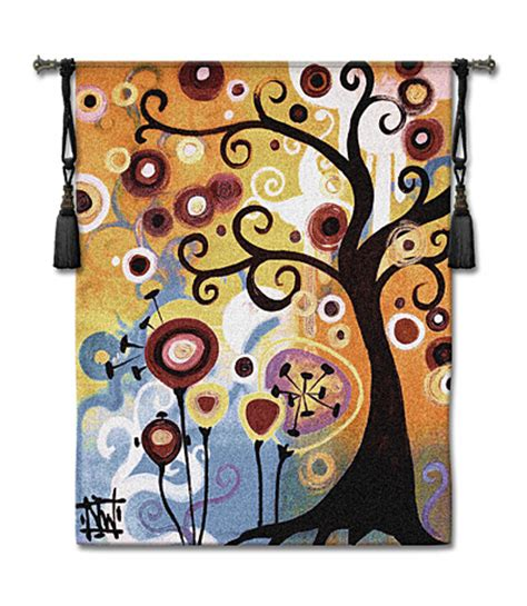 june tree modern tapestry picture h53 quot x w43 quot