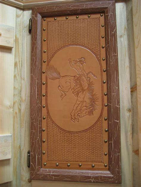 Leather Inlay  Ee  Kitchen Ee    Ee  Cabinet Ee   Door Love For The Ranch