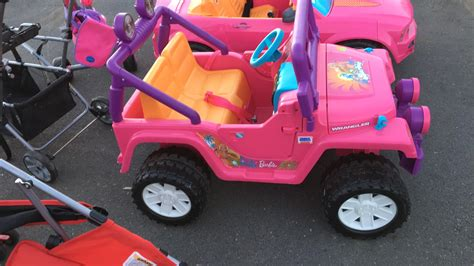 power wheels jeep barbie barbie power wheels jeep with charger and