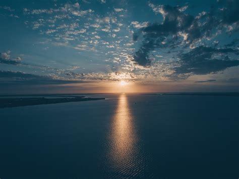 stock photo  beach calm dawn
