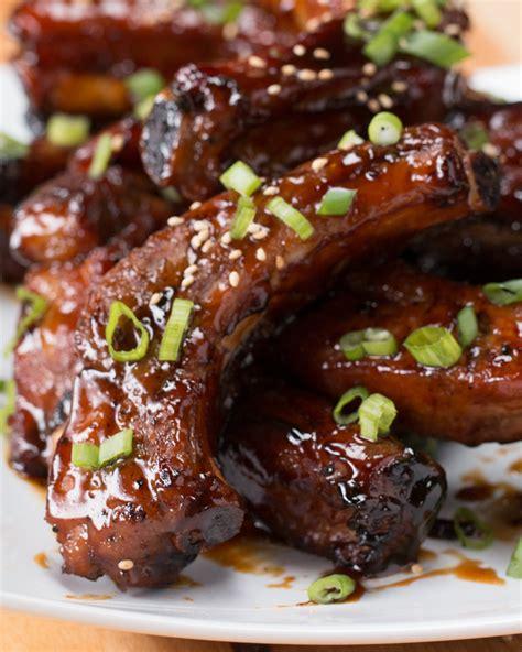ribs fried deep sticky buzzfeed recipe sauce rib recipes beef cooking rippchen bbq pork artikel buzz een spareribs fingers