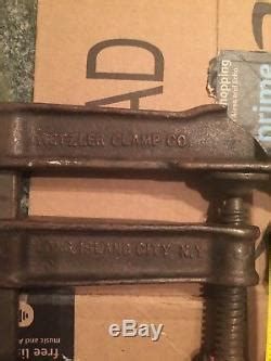 vintage heavy duty wetzler bar clamp