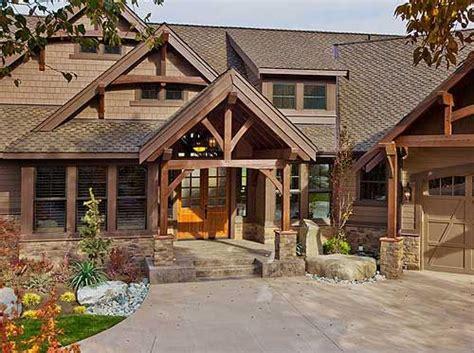 plan jd luxury craftsman  front   views craftsman house plans craftsman style