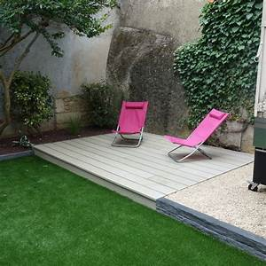 amenagement petit jardin avec terrasse elegant With good fontaine de jardin moderne 0 amenagement jardin eprenez vous de la fontaine de jardin