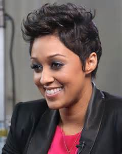Tia Mowry Short Hair
