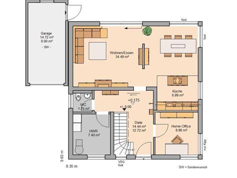 Einfamilienhaus Modern Grundriss