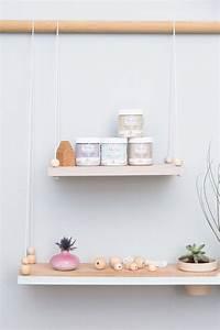 Console Murale Suspendue : diy etag re suspendue avec pots int gr s adc x le bhv ~ Premium-room.com Idées de Décoration