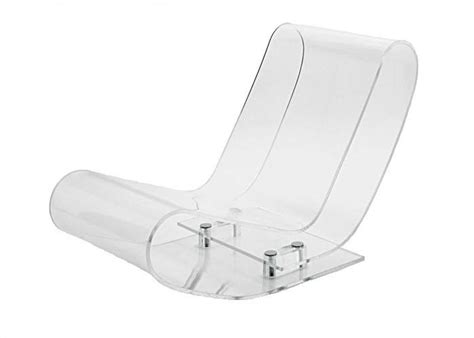 chaise plexiglas kartell lcp acrylic chaise lounge chair