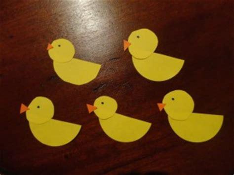 ducks nursery rhyme craft  kids network
