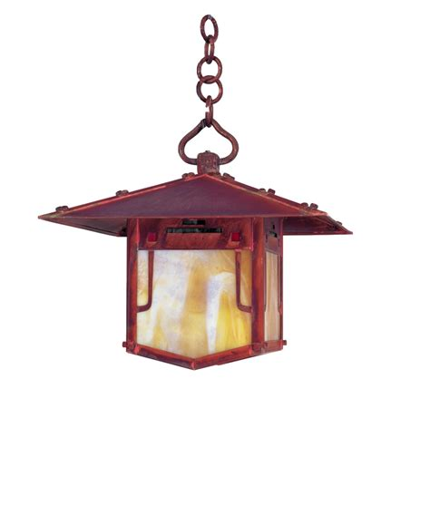 craftsman style hanging outdoor light arroyo craftsman pdh 9 pagoda 1 light outdoor hanging
